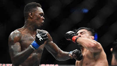 Atlet UFC Israel Adesanya Tidak Takut Dendan Virus Corona 2020