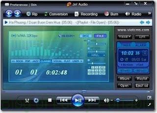 تحميل برنامج جيت اوديو لتشغيل الفيديو jetAudio