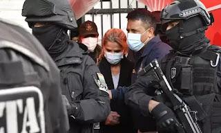 Ex-presidente Jeanine Áñez é  é presa pelo golpe  na Bolivia