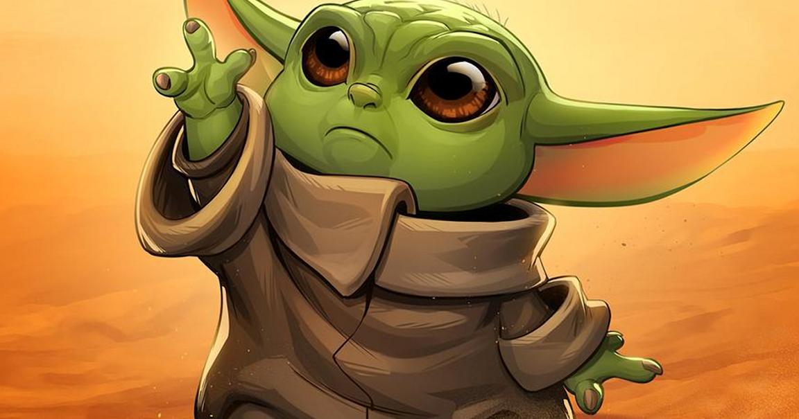 Cute Baby Yoda Wallpaper Free Download