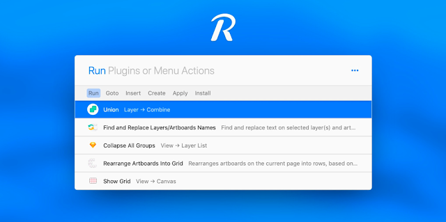 Runner plugin for sketch