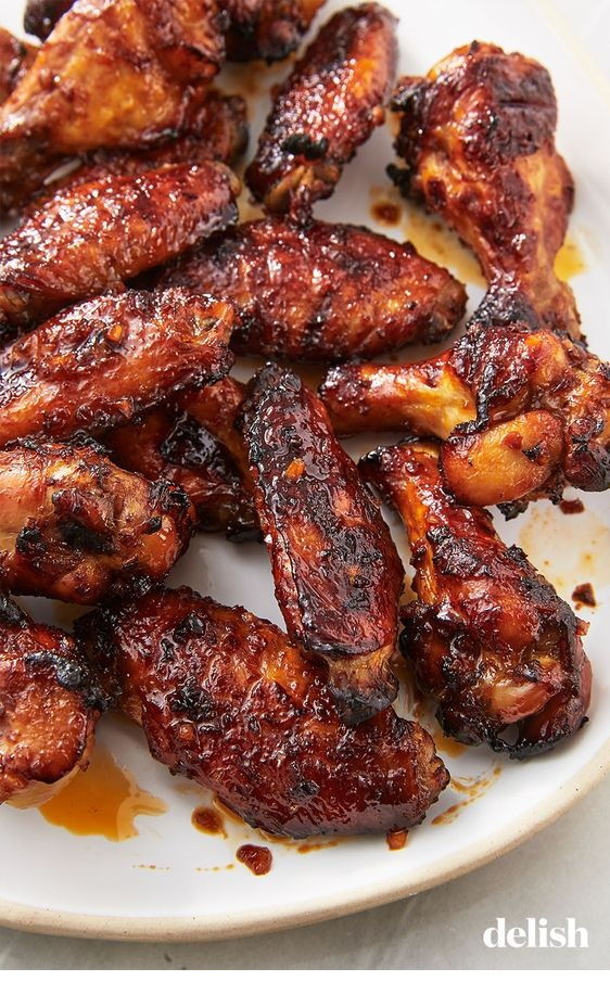Spicy Asian Chicken Wing Marinade