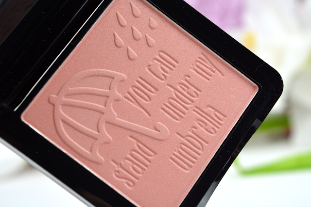 essence me & my umbrella Limited Edition Blush | Prägung