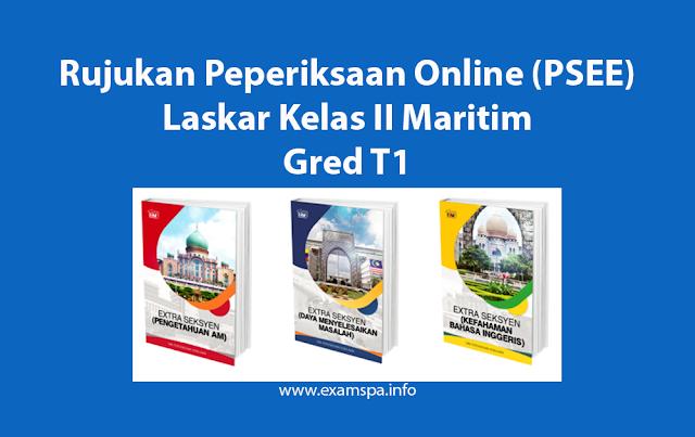 Contoh Soalan Peperiksaan Online Laskar Kelas II Maritim Gred T1