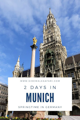 2 Days in Munich, Germany in the Spring