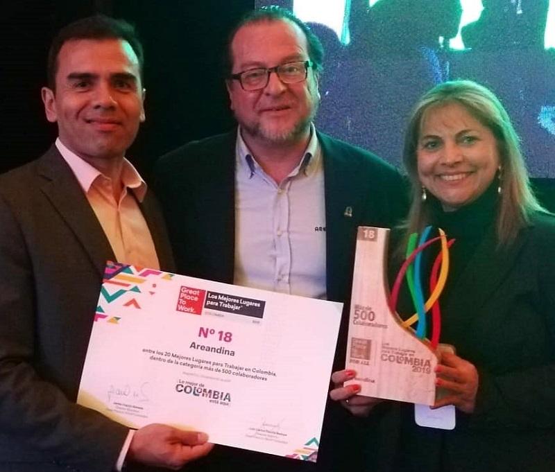 hoyennoticia.com, Areandina la mejor empresa para trabajar en Colombia