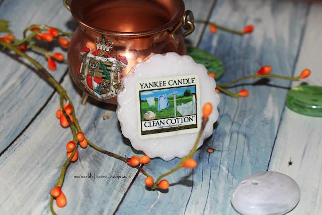 Clean Cotton od Yankee Candle oraz wyniki rozdania.