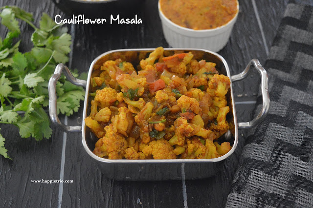 Cauliflower Masala Recipe | Gobi Masala