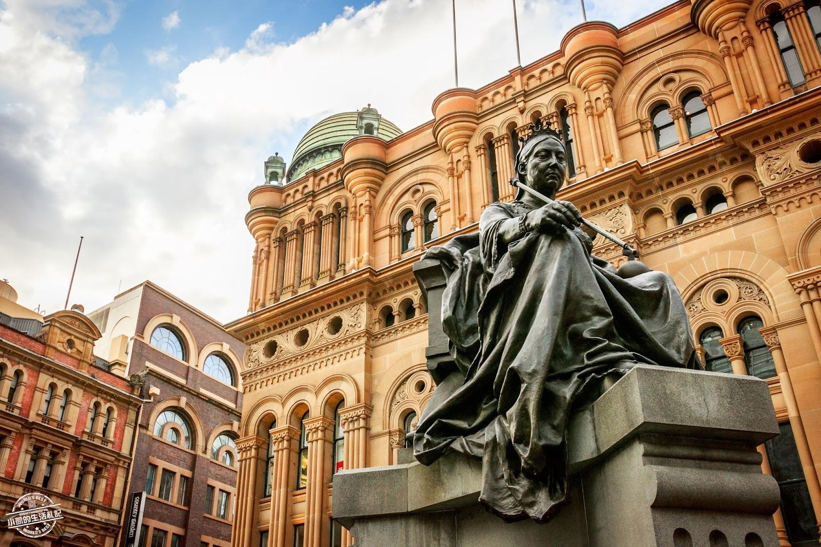 『澳洲雪梨自助行』| QVB 維多利亞女王大廈 | 市政廳 Town Hall | KINGS CROSS 國王十字區