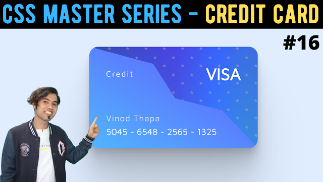 CSS Clip Path | Create Awesome Credit Card in CSS Master Series