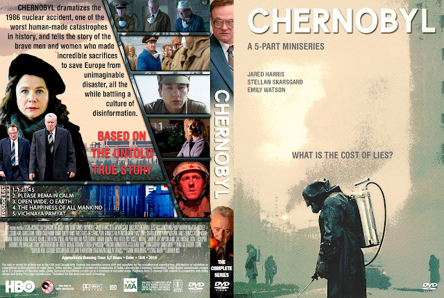 Chernobyl The Complete Series DVD Cover