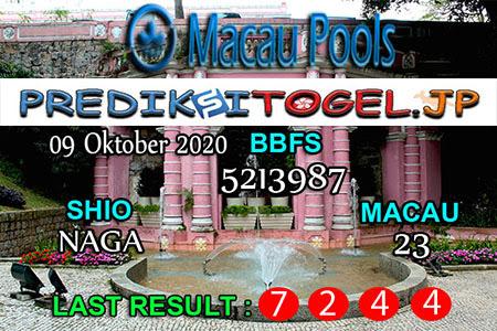 Prediksi Togel Wangsit Macau Pools Jumat