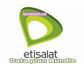 Latest Etisalat Dataplan Bundles and Subscription Codes