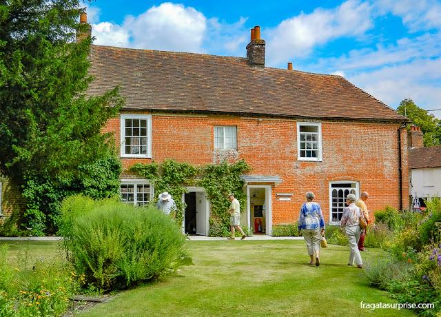 Museu Casa de Jane Austen, em Chawton, Inglaterra