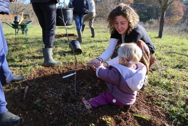 Le jardin for t des etangs soutenir l 39 association jardins for Jardin foret