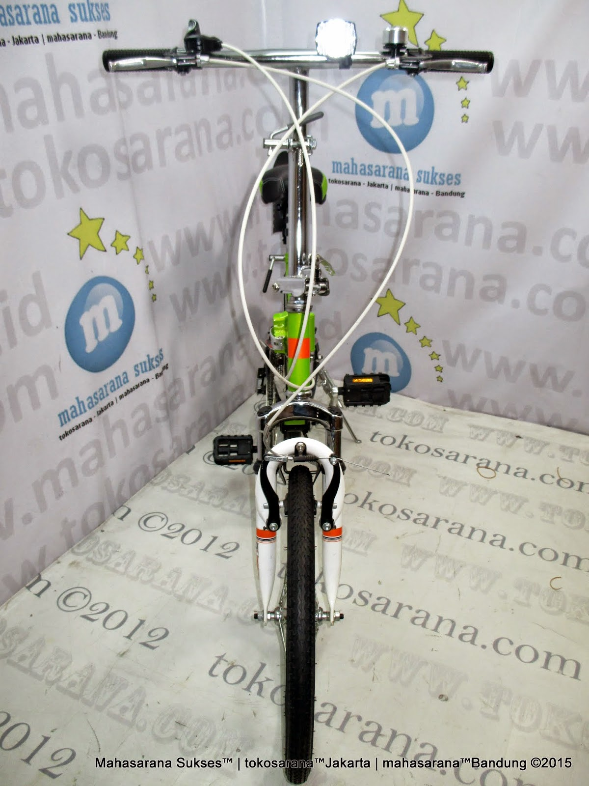 Tokosarana Mahasarana Sukses Sepeda Lipat United Quest Fx02 Full Suspension 6 Speed 20 Inci