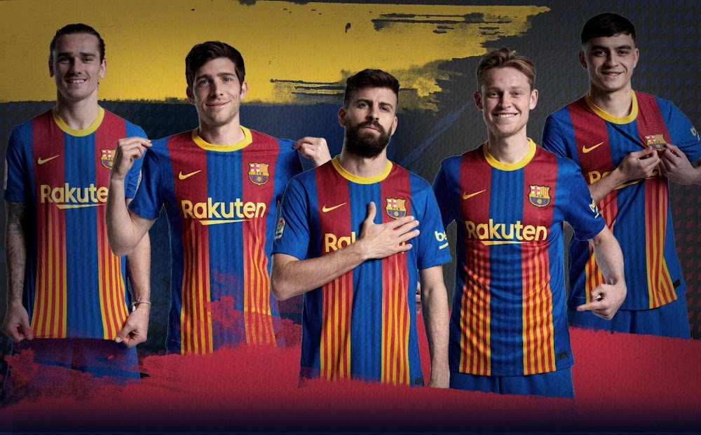 FC Barcelona 20-21 'Clásico' Fourth Kit Released - To Be Worn vs ...