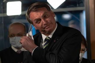 Bolsonaro encerra agenda pública após ser perguntado pela imprensa