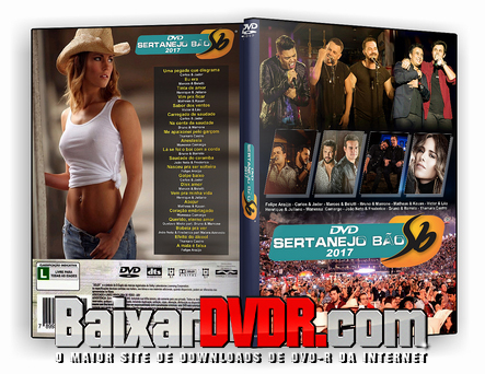 Sertanejo Bão (2017) DVD-R