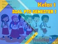 Soal PTS Kelas 1 SD/MI Tema 1 Semester 1 2021 Kunci Jawaban dan Kisi-Kisi Soal, Terkini