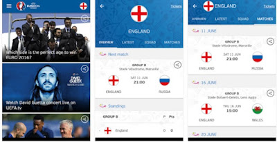 UEFA Euro 2016 Official App APK