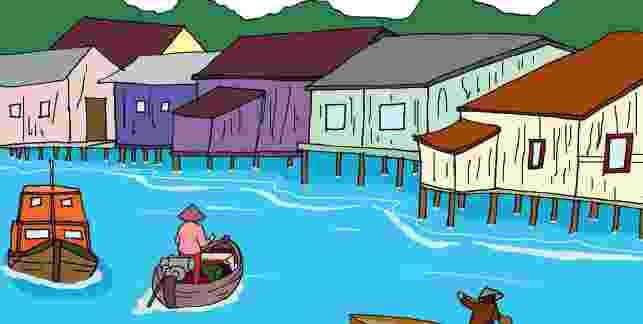 Gambar Kampung