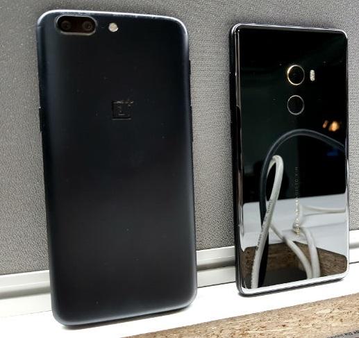 Comparison:Xiaomi Mi Mix 2 OnePlus 5