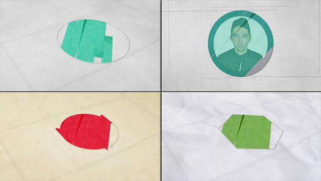أفضل قالب لإنترو إحترافي Blueprint Motion Array جاهز للتحميل والتعديل مجانا برنامج | أفتر إفكت
