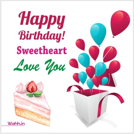 Birthday Wishes For Wife  Hindi with Images