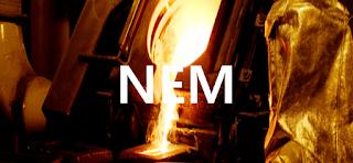 Stock Trading : NYSE:NEM Newmont Goldcorp stock price forecas