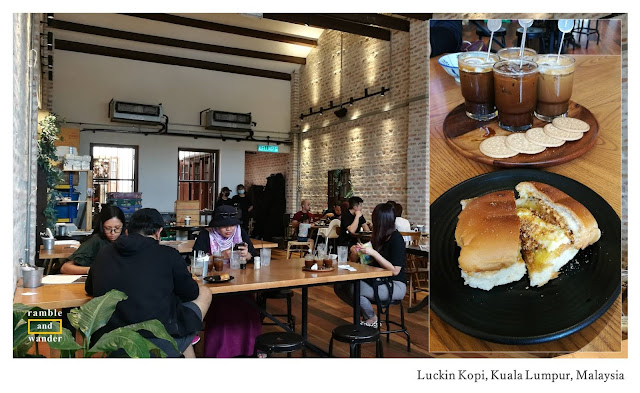 Luckin Kopi Kuala Lumpur, Malaysia - A Review by Ramble and Wander.
