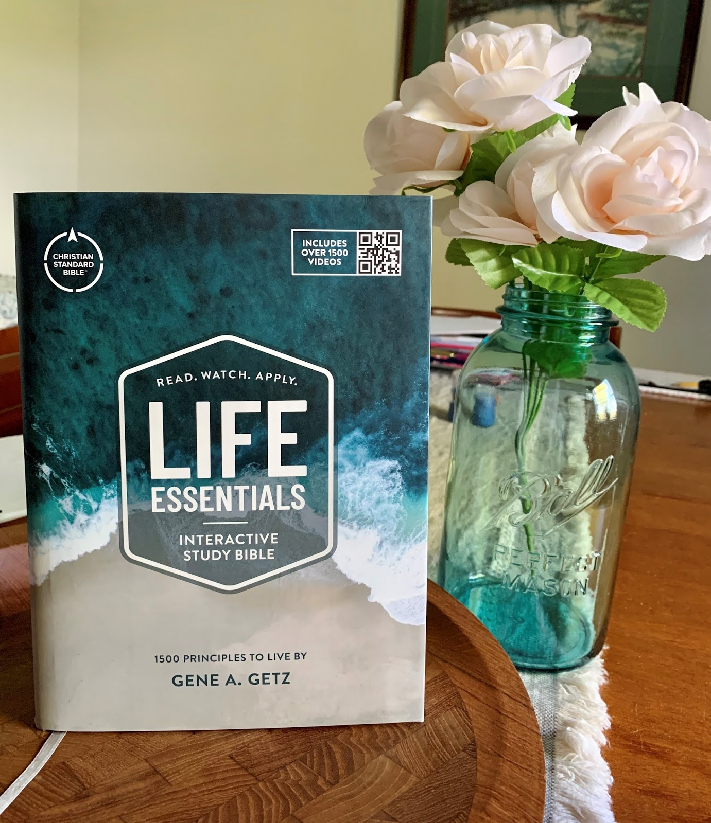 Life Essentials Interactive Study Bible Giveaway #ad