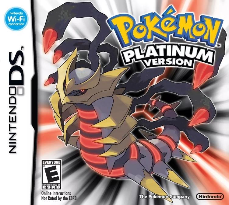 Pokémon Platinum ROM DS