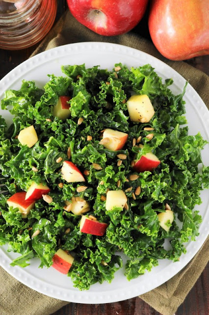 Kale & Apple Salad with Honey Photo