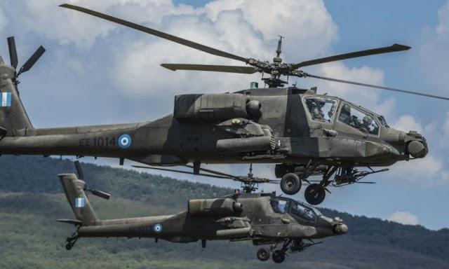 «Κρύος ιδρώτας» στην Τουρκία: Το Ισραήλ θα εξοπλίσει τα Ελληνικά Apache με φονικούς πυραύλους