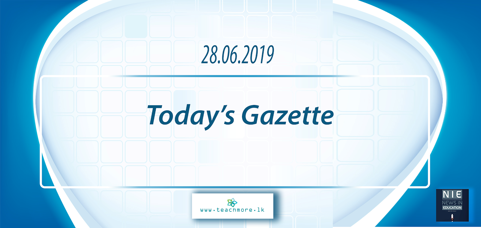 Download Gazette 28 06 2019 - TeachMore lk