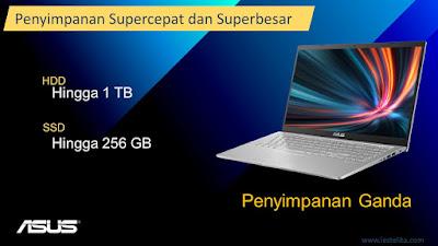 Storage ASUS VivoBook 15 A516