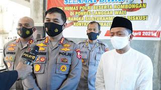 Tim Divhumas Polri Bersama Polda Jateng, Sampaikan Bahaya Paham Radikalisme di Ponpes Demak