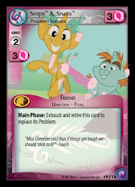 My Little Pony Snips & Snails, Problem Solvers Canterlot Nights CCG Card
