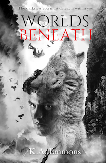 Worlds Beneath by K.A. Emmons [cover image]