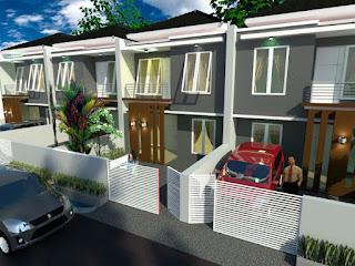 design rumah pondok cabe