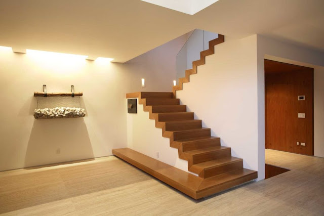 8 Minimalist Home Stair Designs. Also Can Serve As A Rack