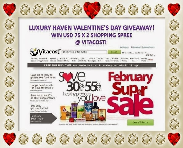 luxury haven valentines day giveaway
