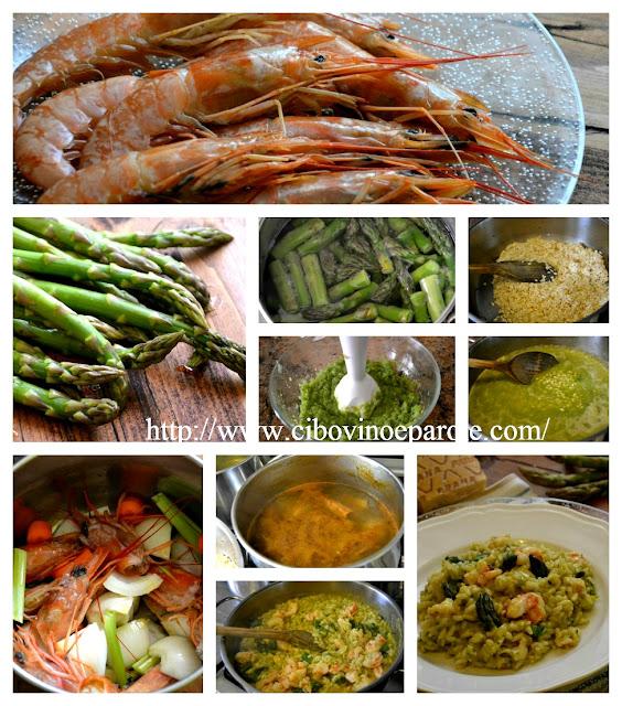 risotto pesce e verdure -procedimento