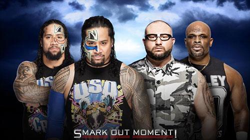 WWE WrestleMania 32 Usos vs Dudley Boyz