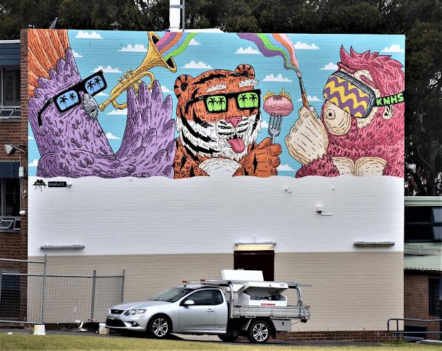 Kingsgrove Street Art | Mulga