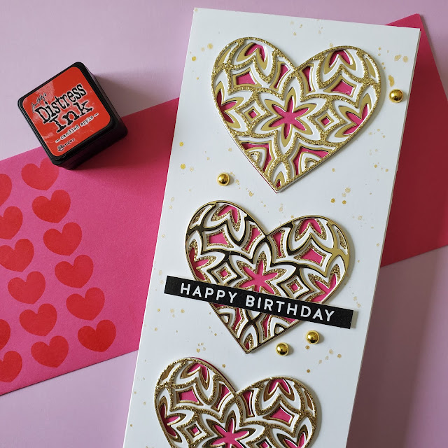 birthday card, birch press designs, simon says stamp