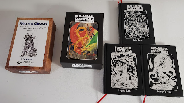 Swords & Wizardry  and Old-School Essentials boxed sets
