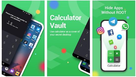 تنزيل برنامج إخفاء الصور على شكل آلة حاسبة Calculator Vault