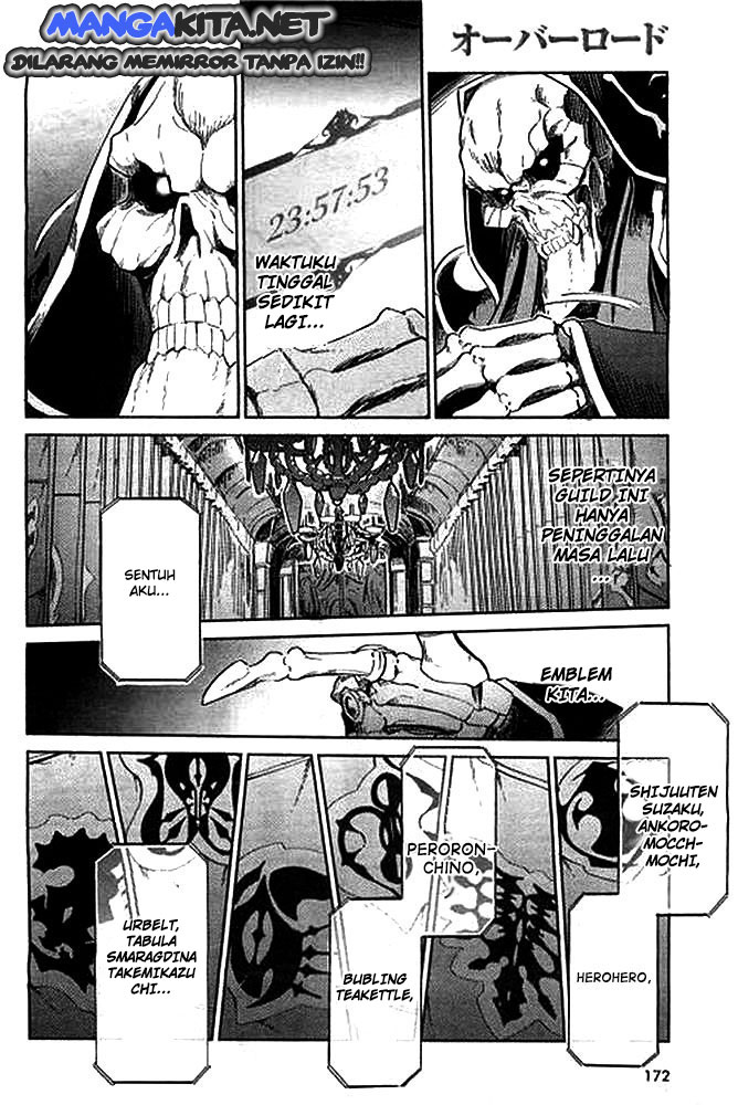 Komik Overlord Chapter  1 Bahasa Indonesia